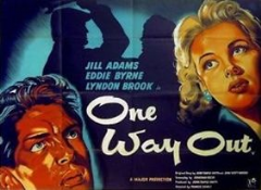One Way Out 1955 DVD - Jill Adams / Eddie Byrne